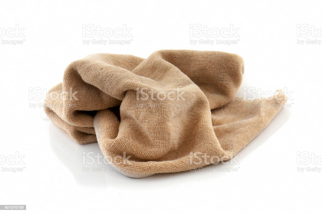 907837e9e7836 Rag Dirty Isolated On White Background Stock Photo & More Pictures ...