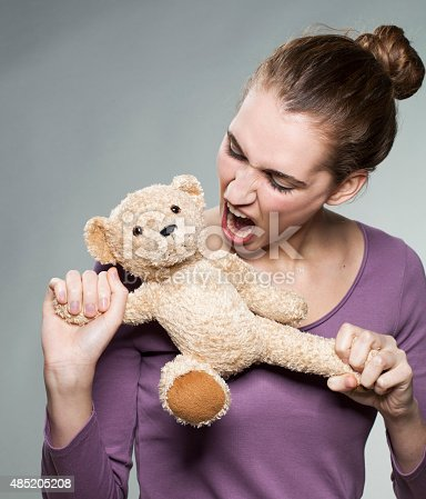 istock rageous beautiful girl angry at her own childhood 485205208