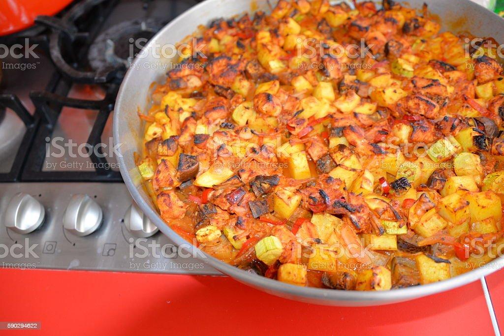 Ragout of vegetables baked in the oven Стоковые фото Стоковая фотография