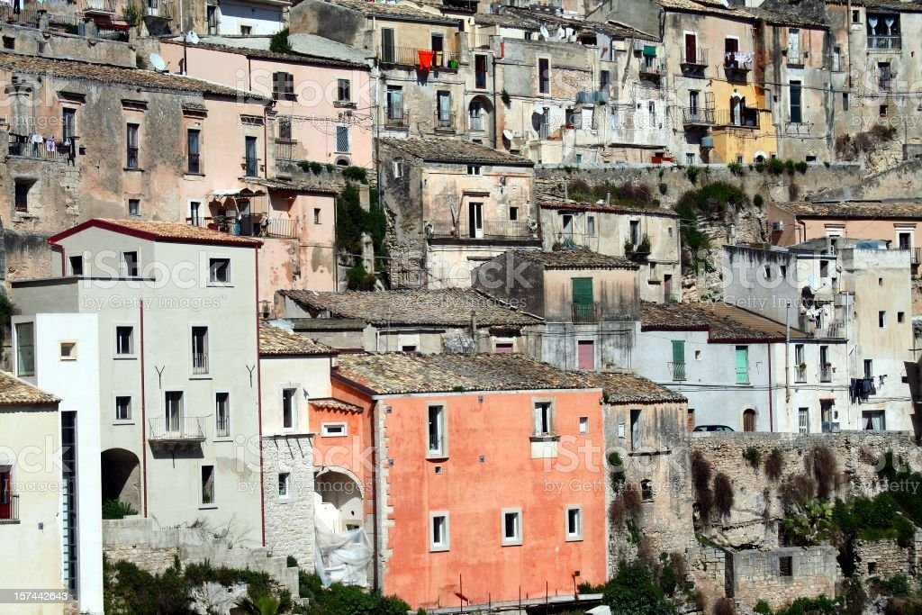 Ragusa Ibla royalty-free stock photo
