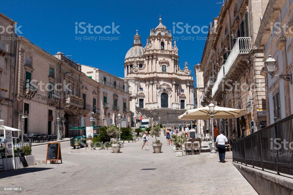Ragusa Ibla, Ragusa Sicily, Italy - foto stock
