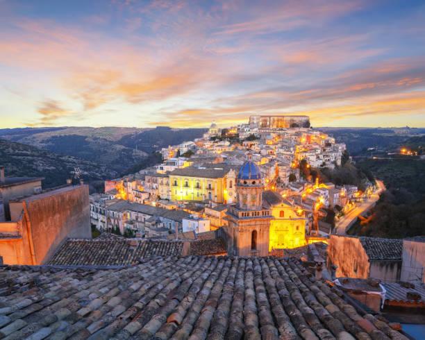 Ragusa, Sicily stock photo