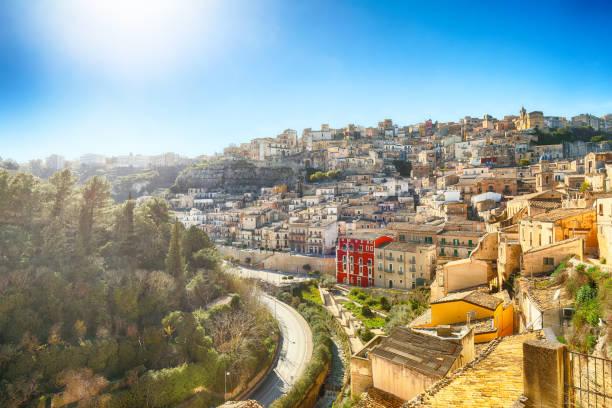 ragusa, sicilië - noto sicilië stockfoto's en -beelden