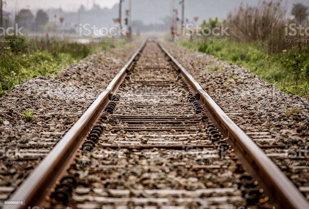 鉄道ライン ストックフォト