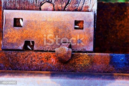 Rail pins,