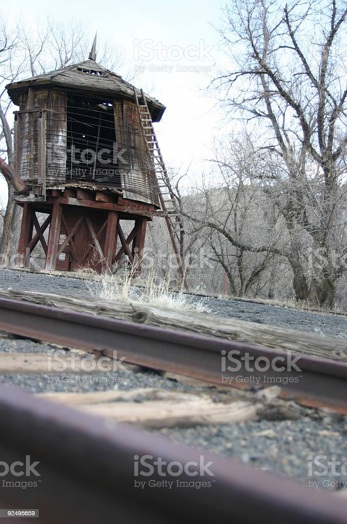 rail road tower royalty-free stock photo