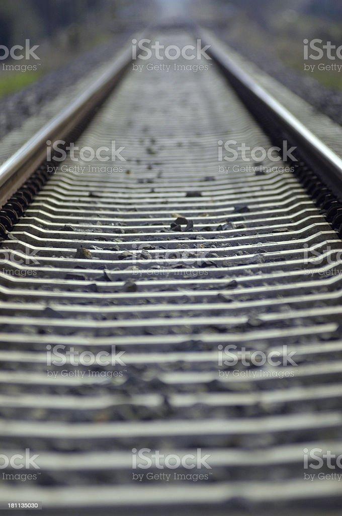 Rail Track II royalty-free stock photo