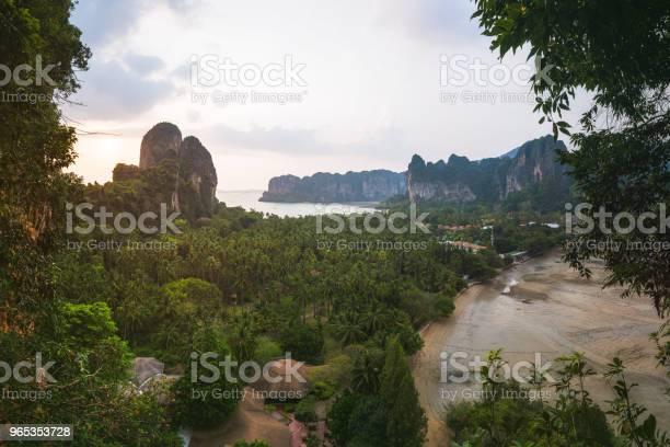 Railay 이스트 비치 끄라 비 주 태국 0명에 대한 스톡 사진 및 기타 이미지