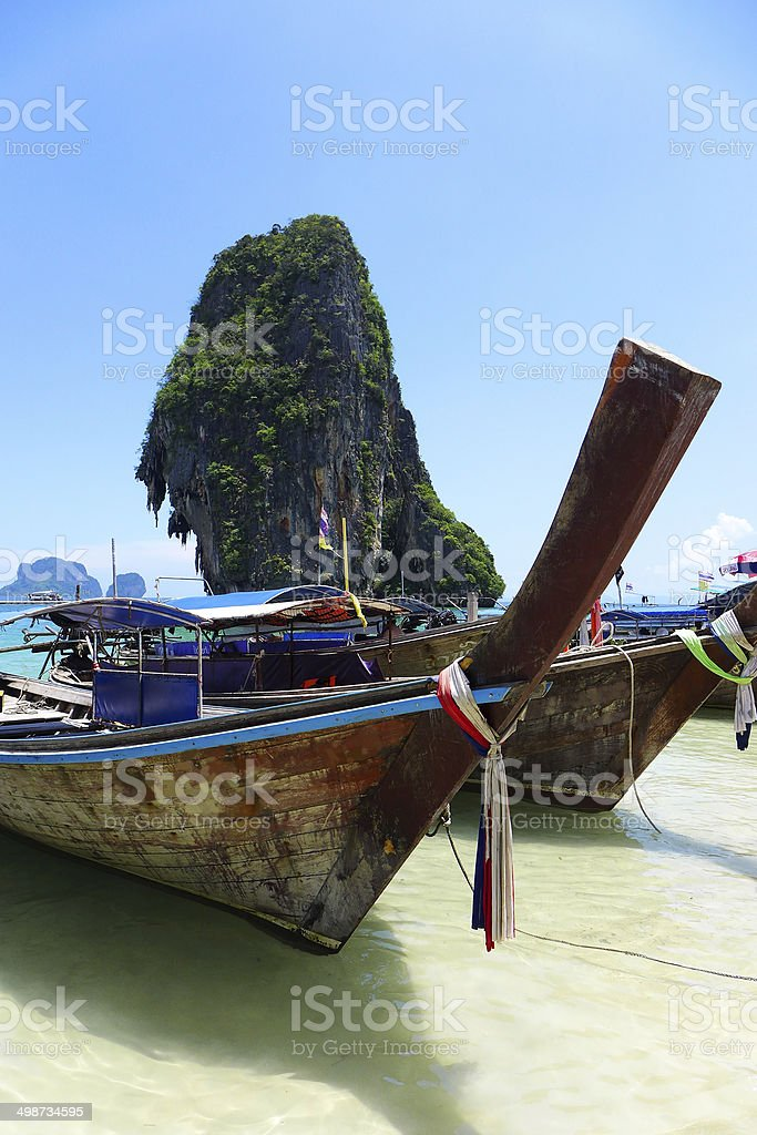 Railey,Krabi Thailand sea royalty-free stock photo