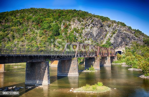 Bridge from Harpers Ferry, West Virginia