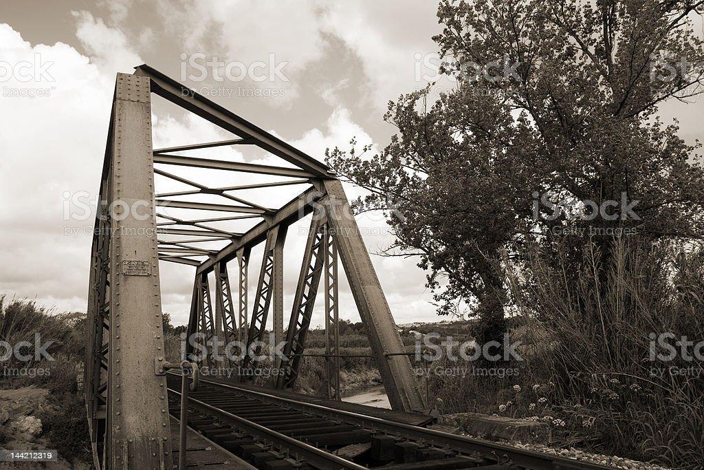 Ponte Ferroviária - fotografia de stock