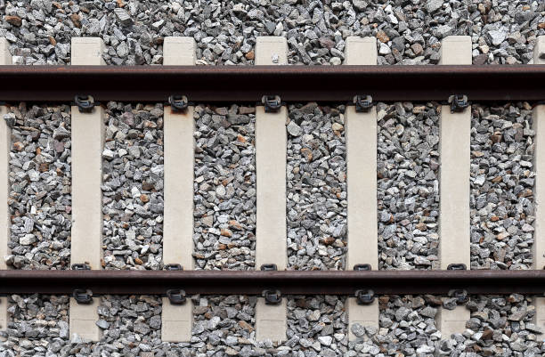 Railroad Railroad track tramway stock pictures, royalty-free photos & images
