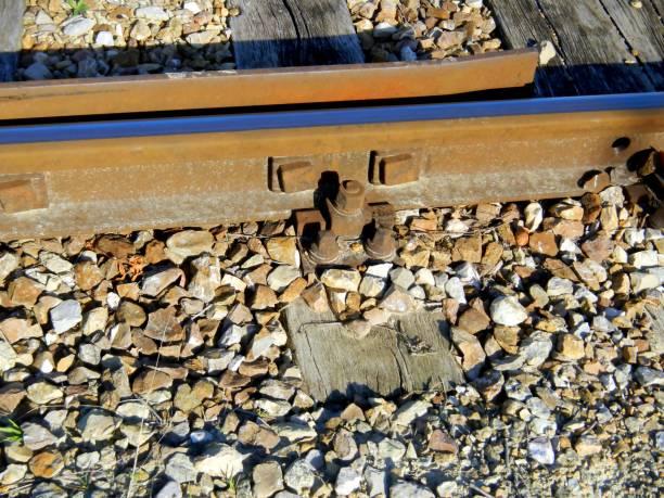 Eisenbahn, Schienen, Detail – Foto