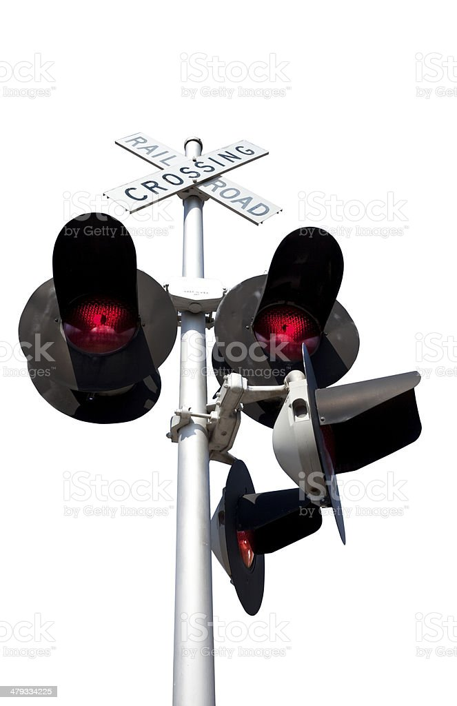 Railroad Signal stock photo