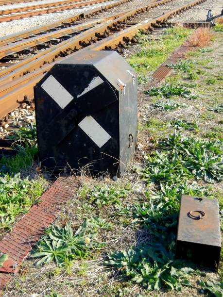 Eisenbahn-Signal, Eisenbahn, alte – Foto