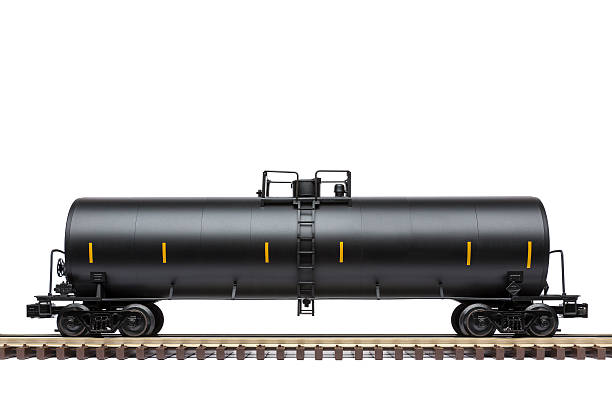 railroad tank car - modellbahnanlagen stock-fotos und bilder