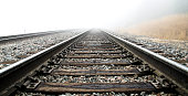istock Railroad Tracks in the Clouds 1178442241