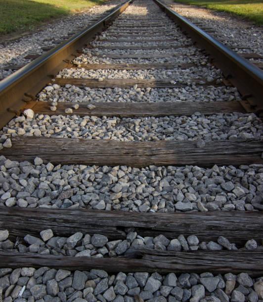 Railroad Tracks stock photo