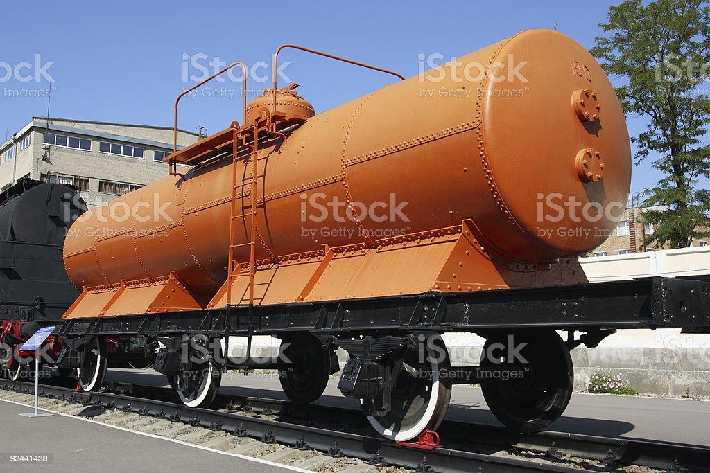 Eisenbahn Waggon Lizenzfreies stock-foto
