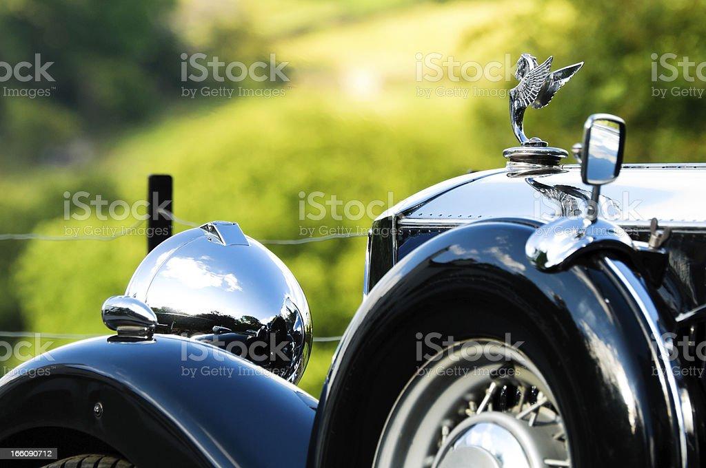 Railton classic car stock photo