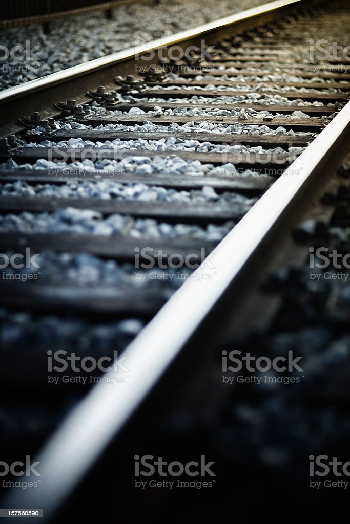 Railway background royalty-free stock photo