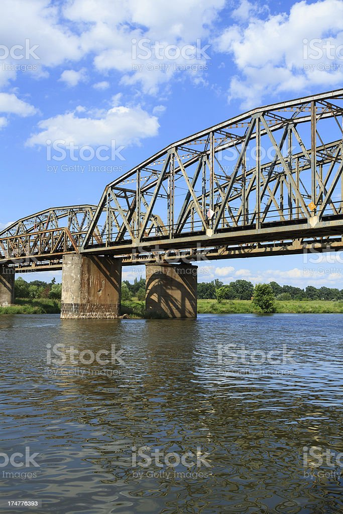 railway bridge royalty-free stock photo