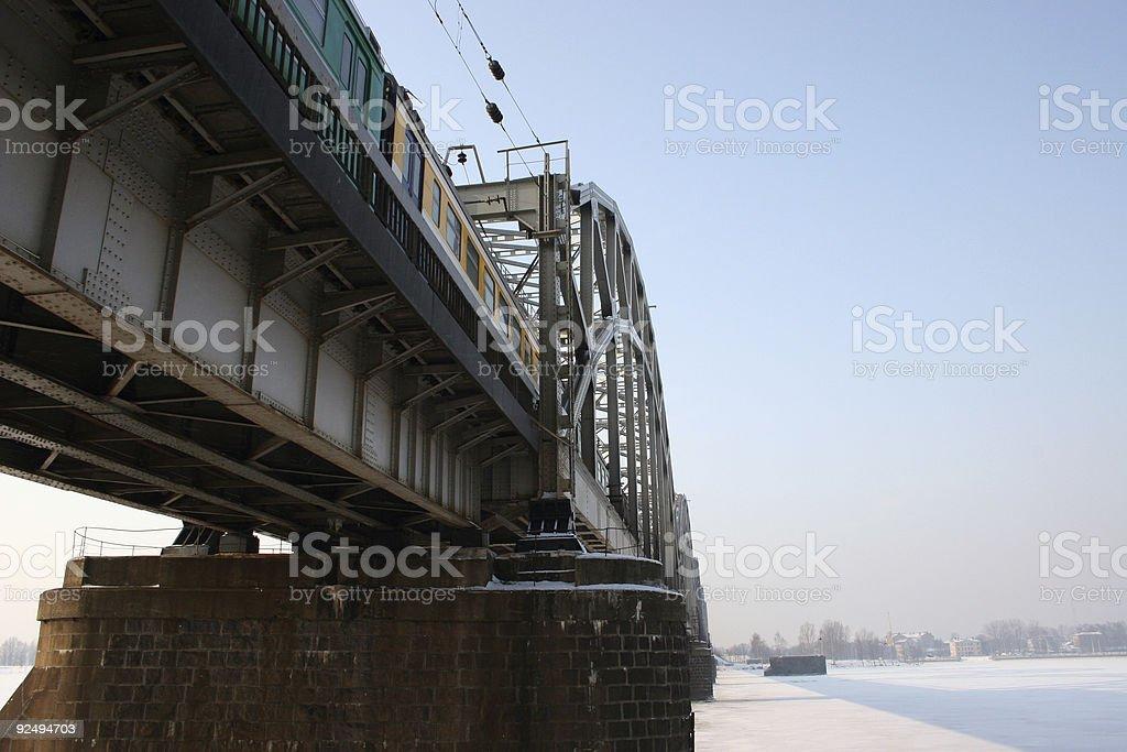 Railway bridge Lizenzfreies stock-foto