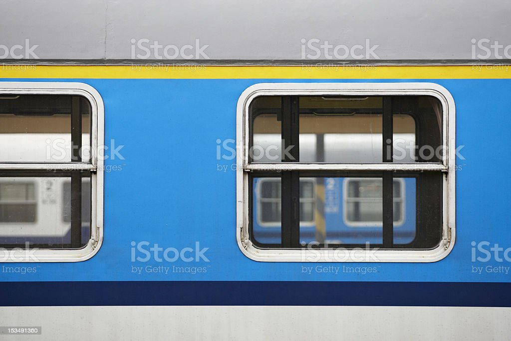 Railway carriage royalty-free stock photo