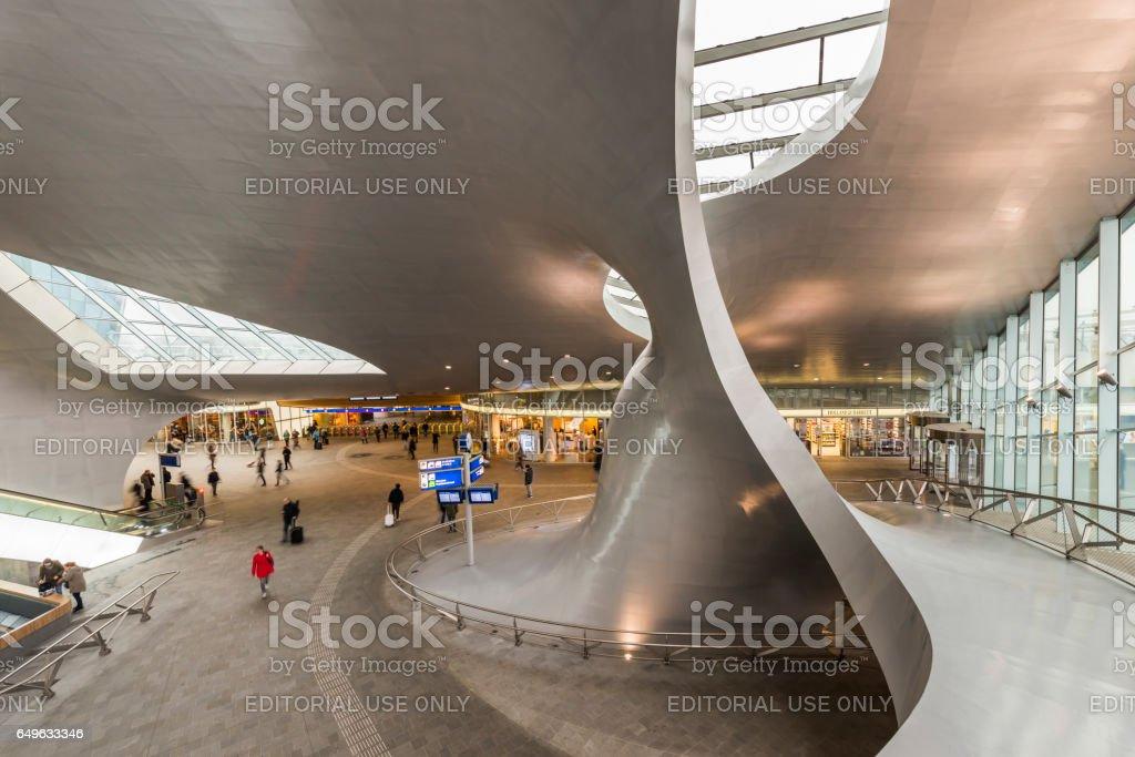 Railway Central Station Arnhem foto