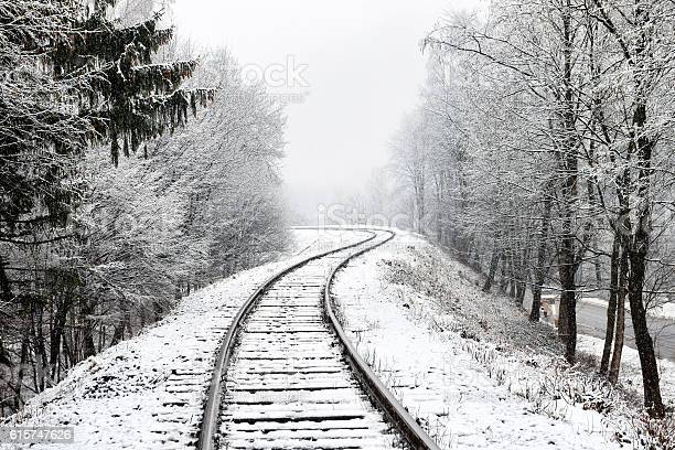 Photo of Railway in snow