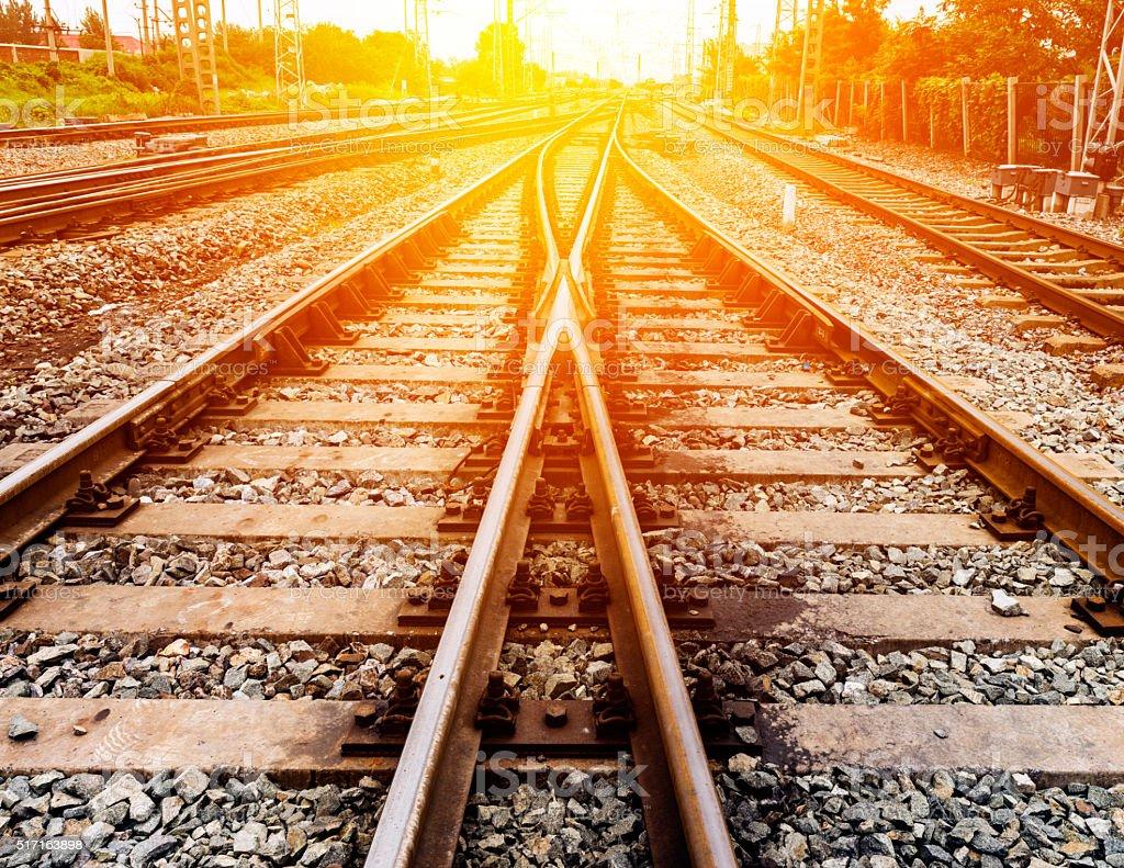 Railway Railroad Track