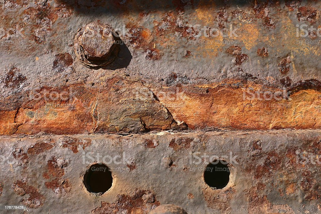 railway rust royalty-free stock photo
