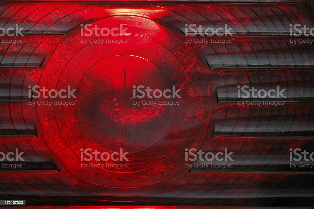 Railway Signal Light royalty-free stock photo