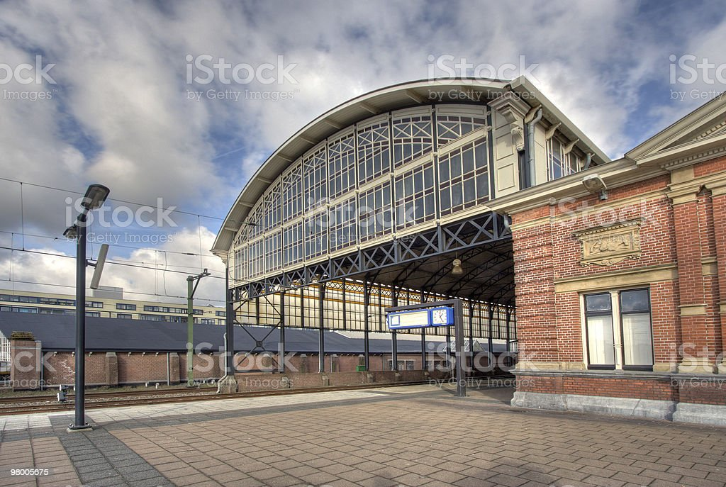Railway Station Holland Spoor royalty free stockfoto