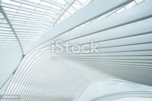 Railway Station Liege-Guillemins, Belgium