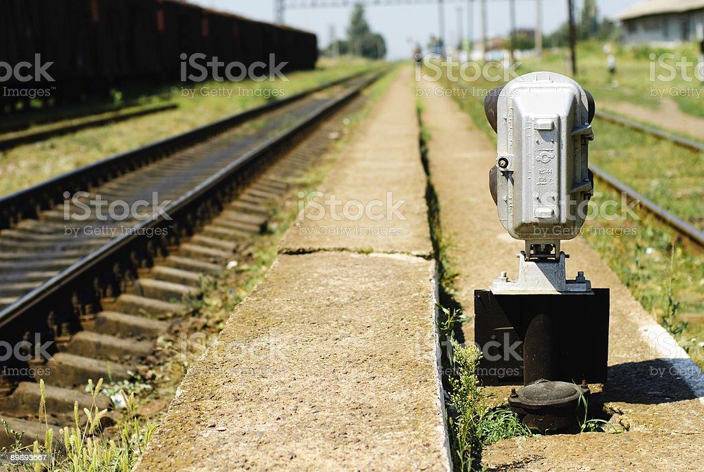 Железнодорожная вокзал Стоковые фото Стоковая фотография