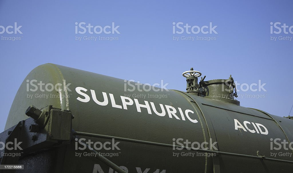 Railway Tanker royalty-free stock photo