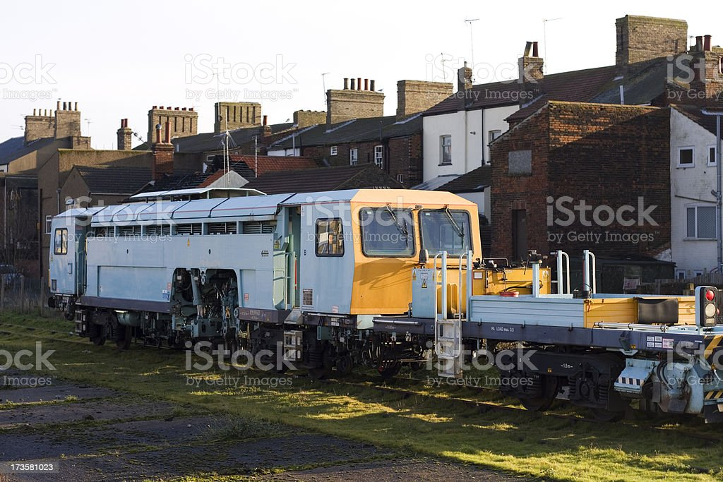 Railway Track Inspection Train Stock Photo - Download Image