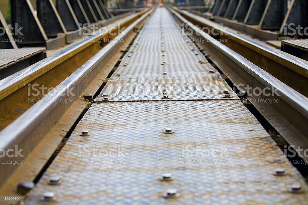 Tor kolejowy zbiór zdjęć royalty-free