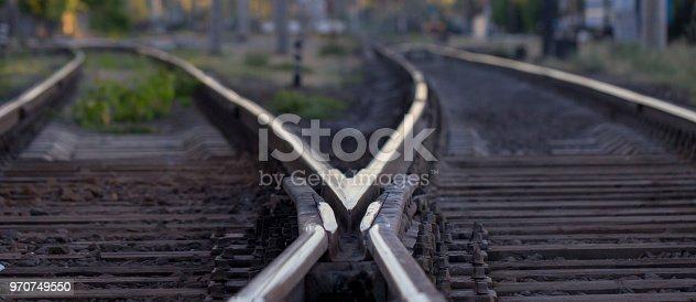 Railway pointwork, railway tracks, high speed rail