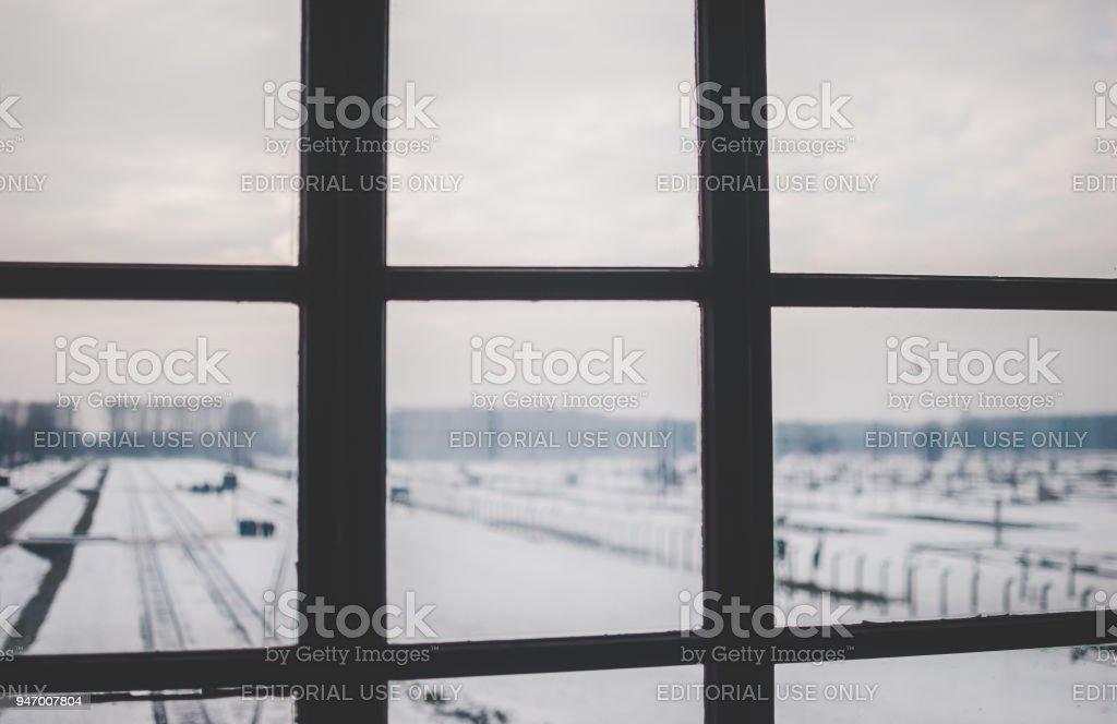 Gleisanlagen des KZ Auschwitz-Birkenau – Foto