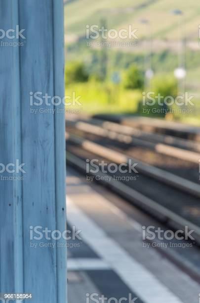 Järnvägsspår Ur Fokus-foton och fler bilder på Bod