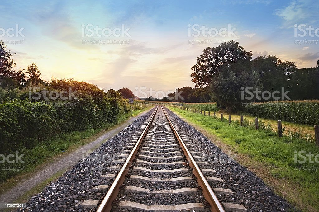 Bahngleise – Foto