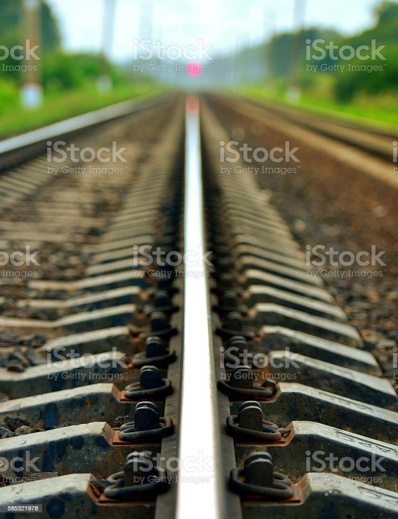 Железнодорожные стоковое фото