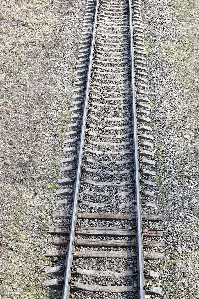 철도 트랙 royalty-free 스톡 사진