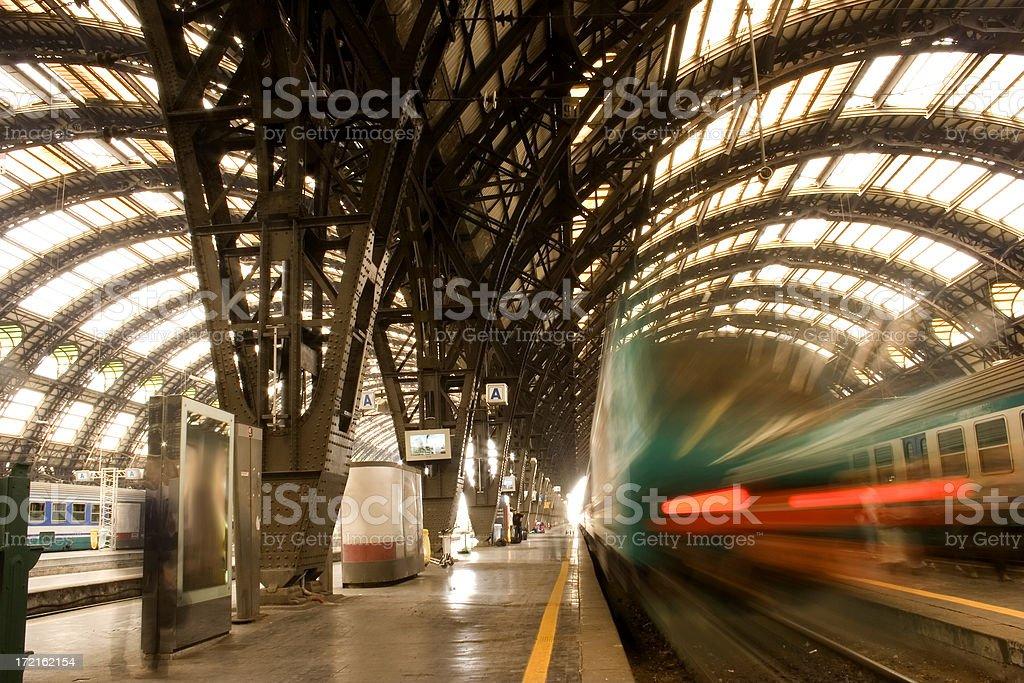 Railway Transportation royalty-free stock photo