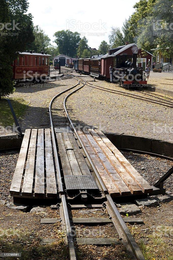 Railway Turntable Stock Photo - Download Image Now - iStock