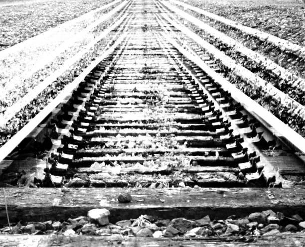 järnvägar - derail bildbanksfoton och bilder