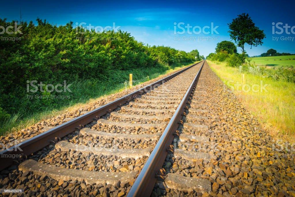 Railways royalty-free stock photo