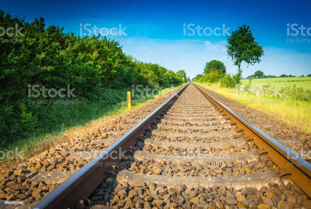 철도 - 로열티 프리 0명 스톡 사진